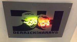 interior design neon