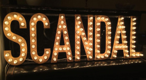 Marquee light up letters sign