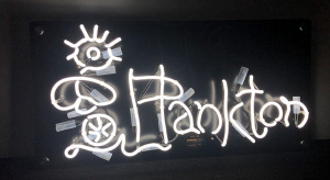 Customised neon sign