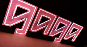 Neon light up letters Andesigneon