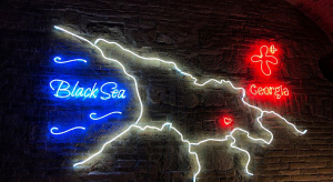 Wall neon sign