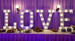 LOVE light up letters