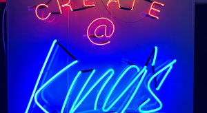 Personalised neon sign