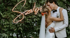 Wedding neon decoration