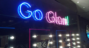 Neon sign for events